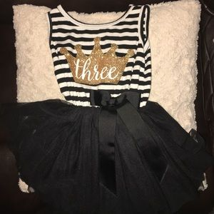 """Other - Toddler 3T """"three"""" dress."""
